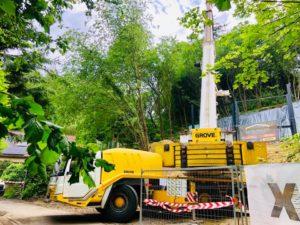 grue telescopique camion beton 15 tonnes namur liege belgique charleroi luxembourg